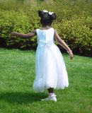 Girl dancing royalty free stock photos