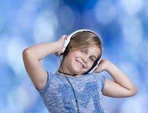 Girl dancing Stock Photo