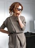 Girl in dark glasses Royalty Free Stock Photo