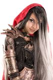 Dark Red Riding hood Stock Photography