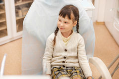 Girl at the dentist. Stock Image