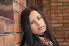 Girl in depression Stock Image