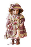 Girl doll Stock Images