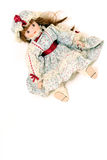 Girl doll Royalty Free Stock Photography