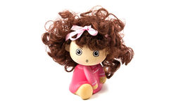 Girl doll. Royalty Free Stock Images