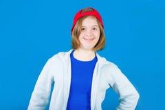 Girl Down syndrome royalty free stock photo