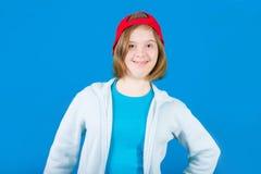 Girl Down syndrome stock photos