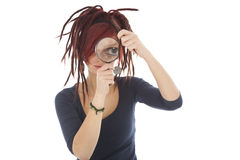 Girl with dreadlocks Royalty Free Stock Image