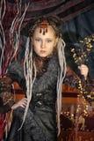 Girl with dreadlocks Royalty Free Stock Photos