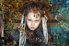 Girl with dreadlocks Royalty Free Stock Photography