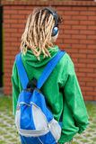 Girl with dreads Royalty Free Stock Photo