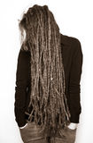 Girl with dreads Royalty Free Stock Images