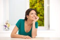 Girl dreaming. Royalty Free Stock Image