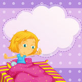 Girl dreaming Royalty Free Stock Images