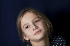Girl Dreaming Royalty Free Stock Photos