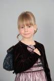 Girl in a dress Stock Photos