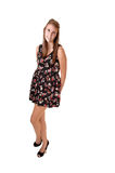 Girl in dress. Royalty Free Stock Image
