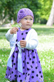 Girl in dress Royalty Free Stock Photography