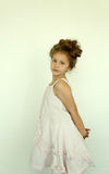 Girl in dress Royalty Free Stock Photo