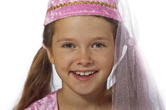 Girl dressed as fairy Royalty Free Stock Images