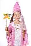 Girl dressed as fairy Stock Photo