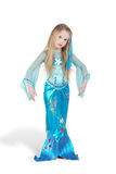 Girl dressed as mermaid Stock Image