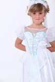 Girl dressed as princess Royalty Free Stock Photo