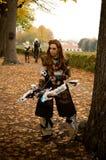 Fantasy warrior at Lucca Comics and Games 2017 Royalty Free Stock Photo