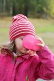 Girl drinking Stock Photo
