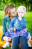 Girl Eating Sweets royalty free stock images