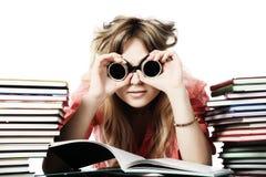 Girl education Stock Photography