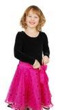 Girl in elegant   dress Stock Image