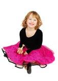 Girl in elegant   dress Royalty Free Stock Images