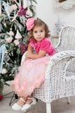 Girl in an elegant dress Stock Photo