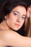 Girl with elegant makeup Royalty Free Stock Image