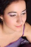 Girl with elegant makeup Stock Photos