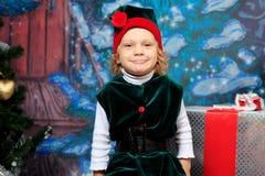 Girl elf Stock Photography