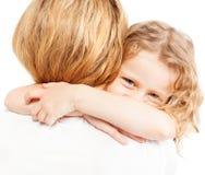 Girl embracing mum Royalty Free Stock Photo