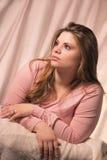 Girl enchanted Stock Photography