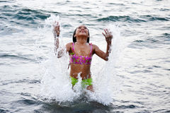 Girl Enjoying Summer Royalty Free Stock Image