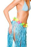 Girl in exotic skirt Royalty Free Stock Images