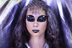 Girl extraterrestrial alien Stock Photos