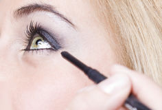 Girl eye Stock Photo