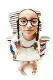Girl in eyeglasses Royalty Free Stock Photo