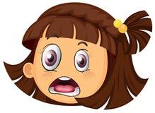 A girl face Stock Photo