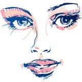 Girl face Stock Photo
