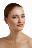 Girl Face modelo hermoso Fotografía de archivo
