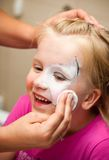 Girl with face painted Stock Photos