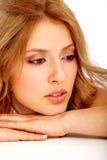 Girl face portrait Stock Photo