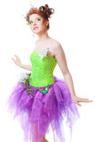 Girl in fairy costume Royalty Free Stock Photography